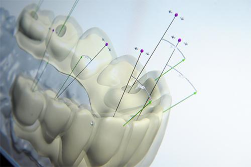 screenshot of dental software